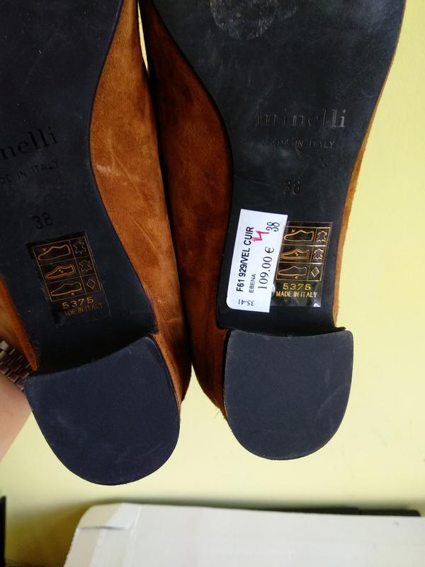 Туфлі 38 розмір бренд minelli - Фото 3