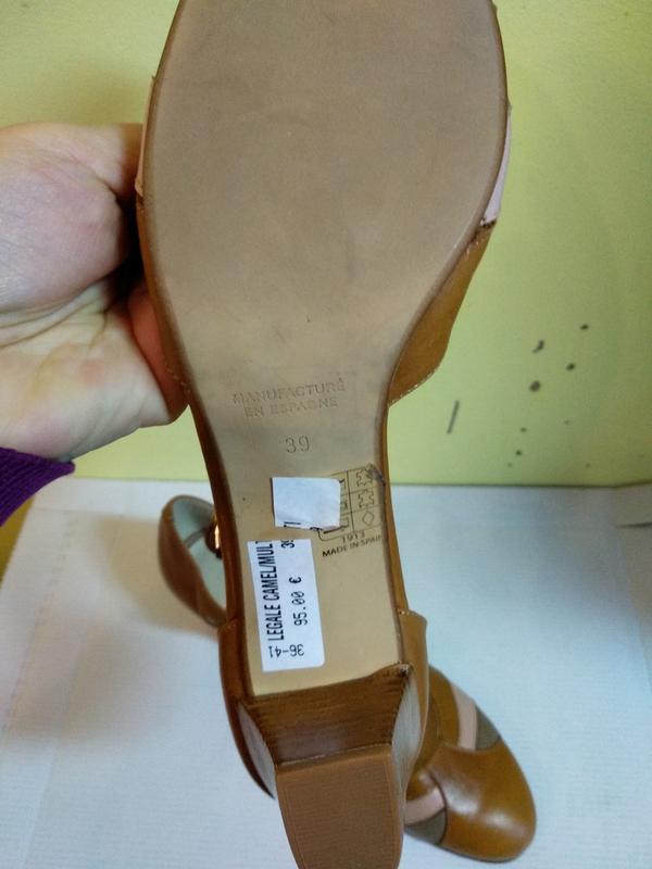 Босоніжки 39 розмір бренд san marina - Фото 3