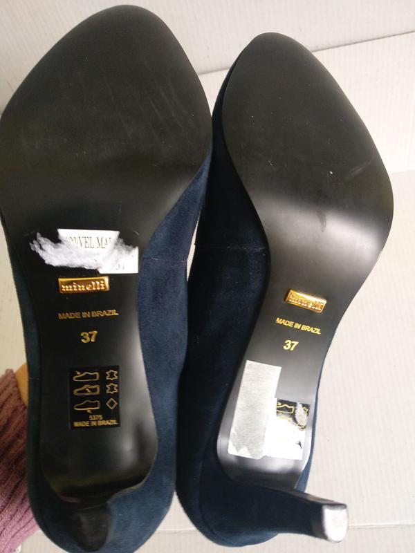 Туфлі 37 розмір бренд minelli - Фото 4