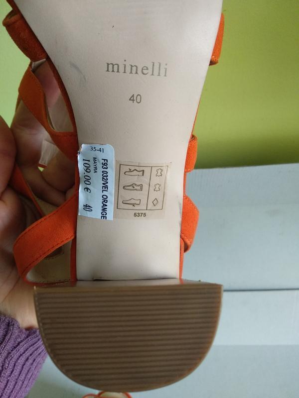 Босоніжки 40 розмір бренд minelli - Фото 2