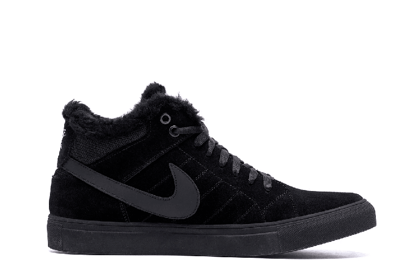 Мужские Зимние Кожаные Ботинки Nike