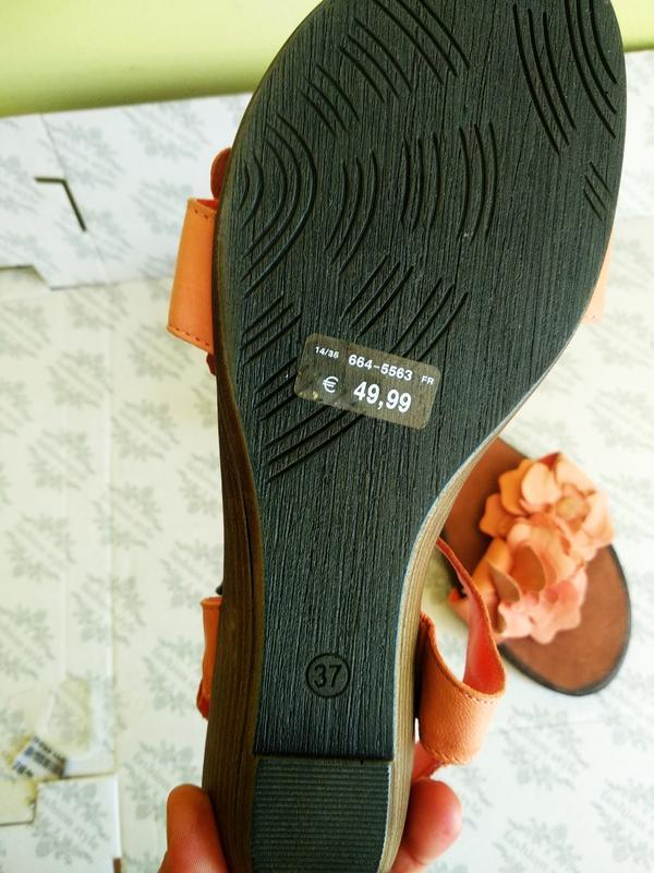 Босоножки 37 розмір бренд bata - Фото 3