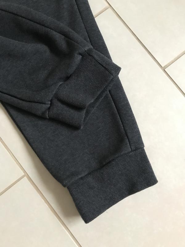 Штаны трикотаж утеплённые стильные puma размер xl - Фото 4