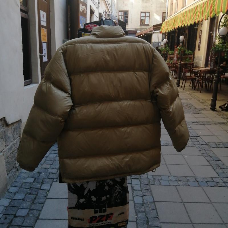 Зимняя куртка adidas пуховик - Фото 2