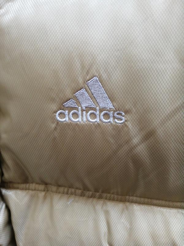 Зимняя куртка adidas пуховик - Фото 3