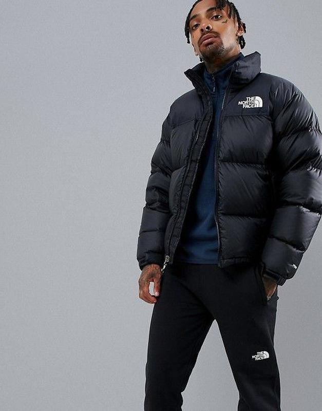 Акция! зимний пуховик куртка the north face supreme черный