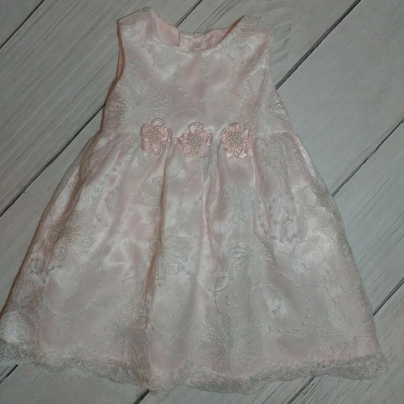 Платье нарядное, 12 мес.