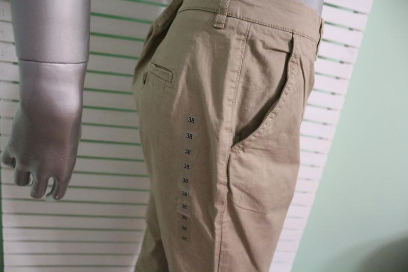 Бежевые брюки штаны h&m - Фото 3