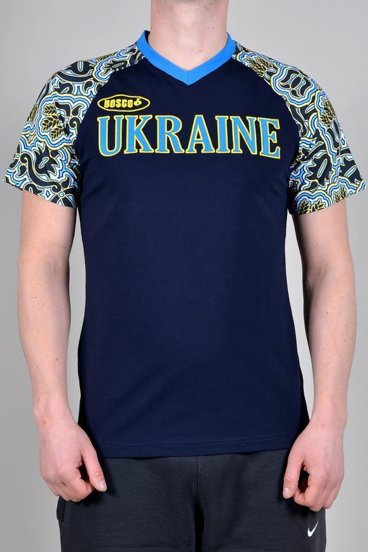 Футболка bosco sport украина (новая коллекция) олимпийская ори...