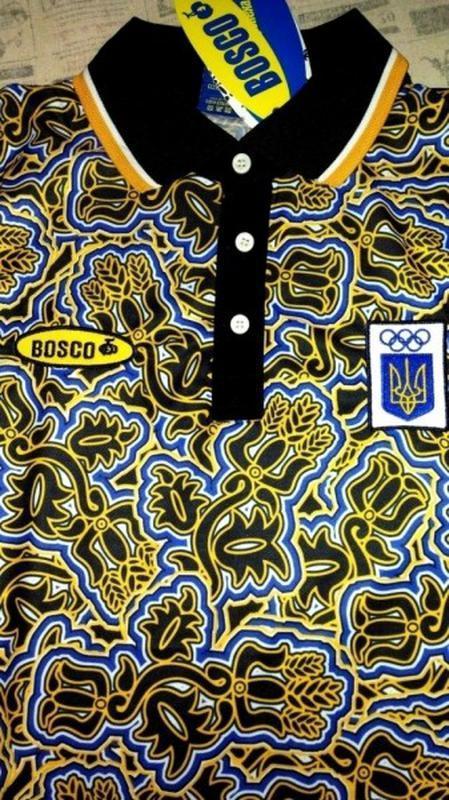 Оригинальная поло футболка bosco sport  украина (новая коллекц...