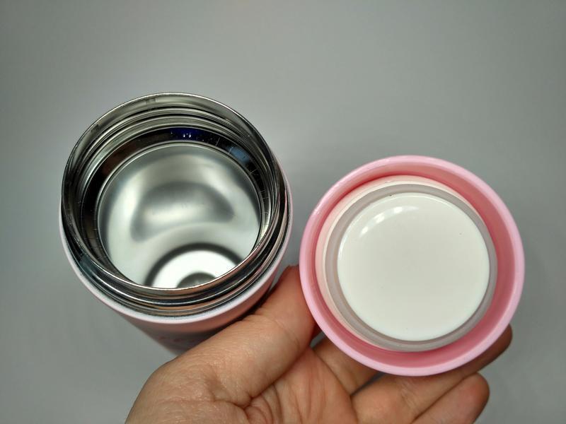 Термос термокружка Фламинго термочашка Soft touch, 300 мл - Фото 2