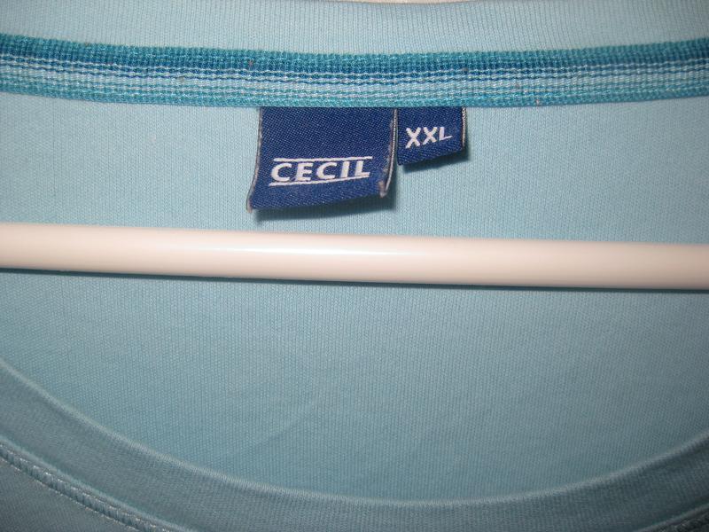 Джемпер брэнда cecil голубой бирюзовый - Фото 2