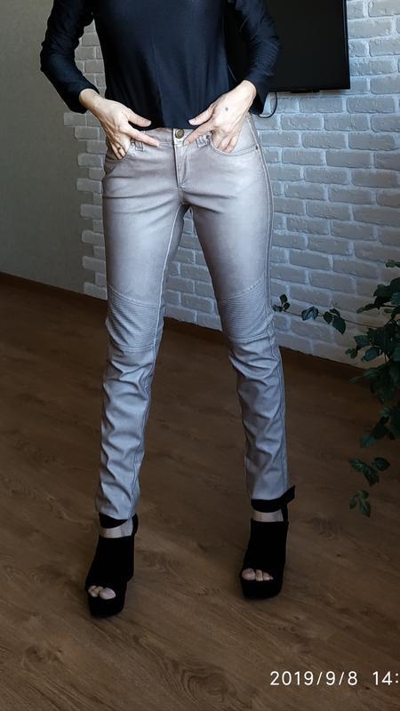 Скидка три дня кожаные штаны бренда superstar.