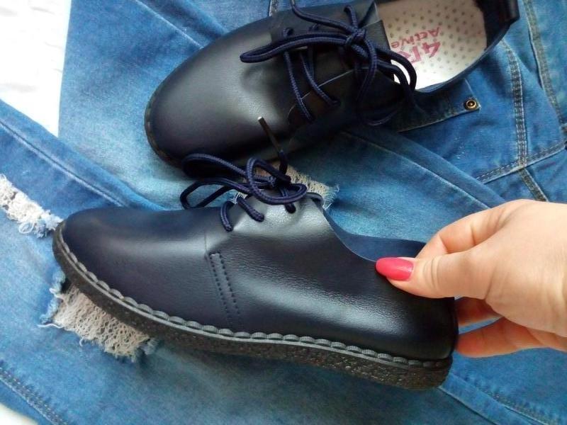 Мягкие туфли-мокасины