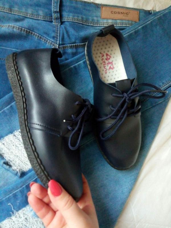 Мягкие туфли-мокасины - Фото 4