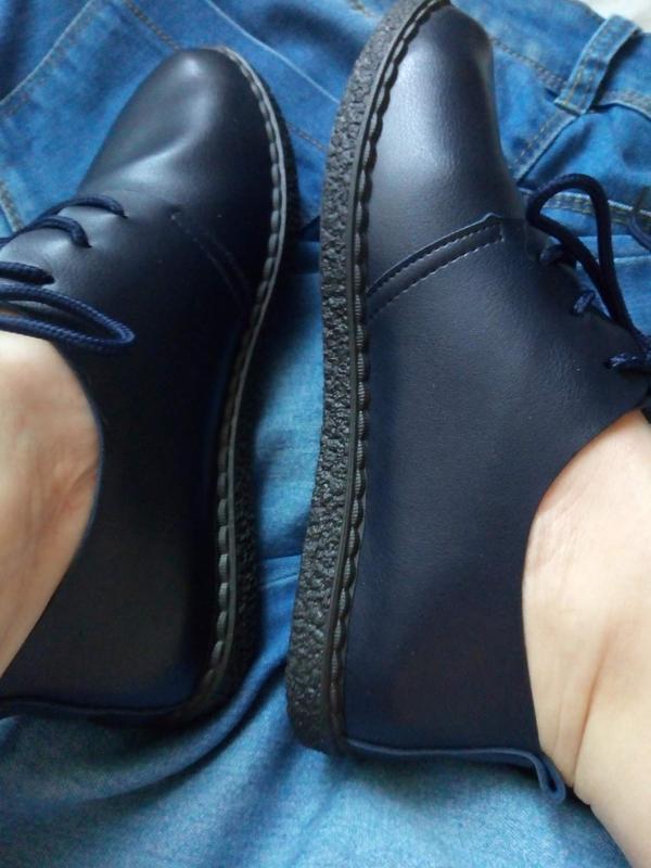 Мягкие туфли-мокасины - Фото 5
