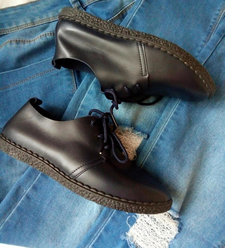 Мягкие туфли-мокасины - Фото 6