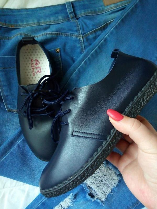 Мягкие туфли-мокасины - Фото 3