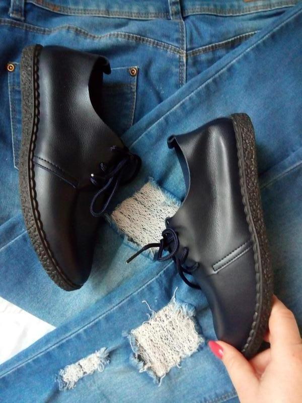 Мягкие туфли-мокасины - Фото 2