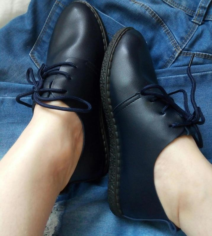 Мягкие туфли-мокасины - Фото 9