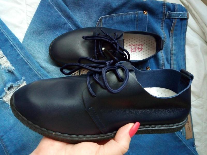 Мягкие туфли-мокасины - Фото 10