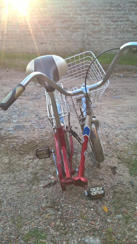 Велосипед складной.дорожник десна 20