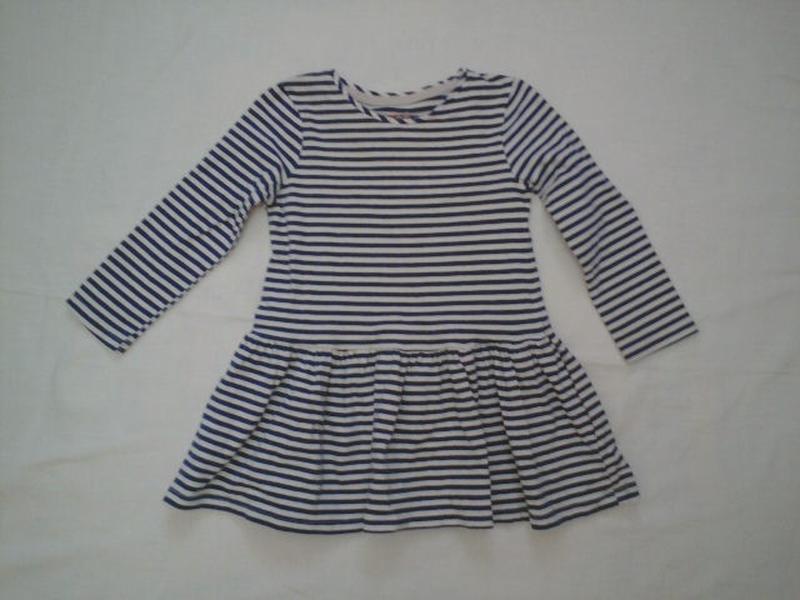 Платье в полосочку f&f на р 98 см 2-3 года