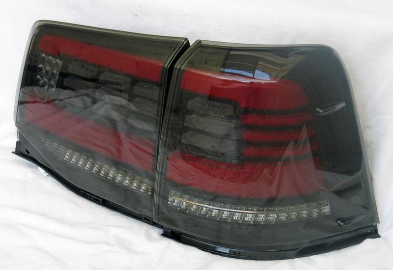 Диодные фонари Toyota Land Cruiser 200 (16+) тюнинг оптика - Фото 2