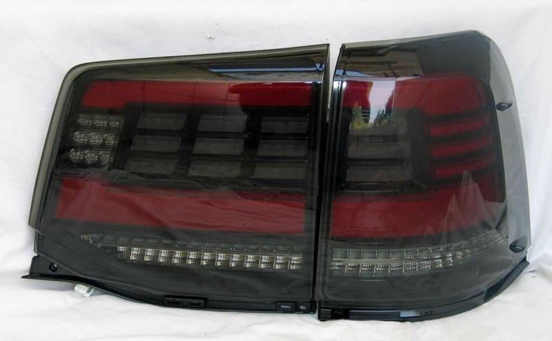 Диодные фонари Toyota Land Cruiser 200 (16+) тюнинг оптика