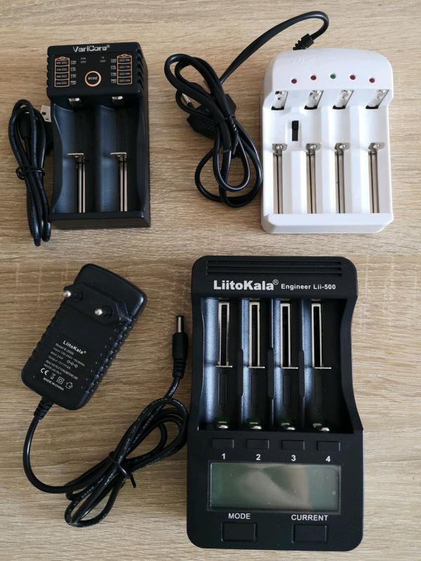 Зарядное устройство LiitoKala Lii-500, Varicore V20, FunGold - Фото 2