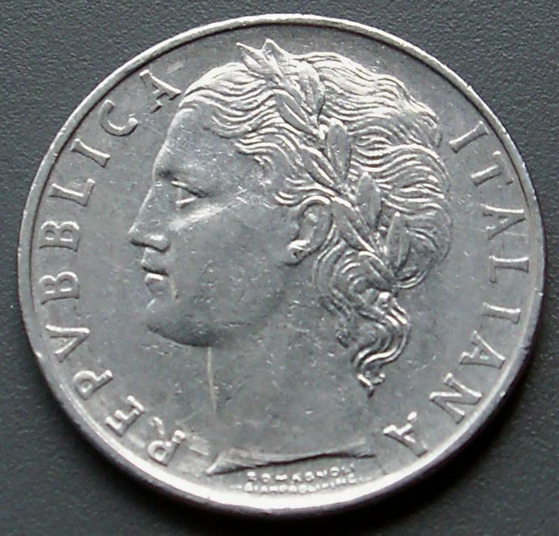 100 лир 1964 года
