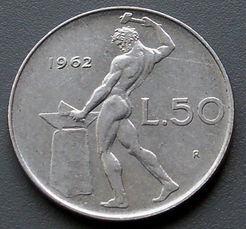 50 лир 1962 года