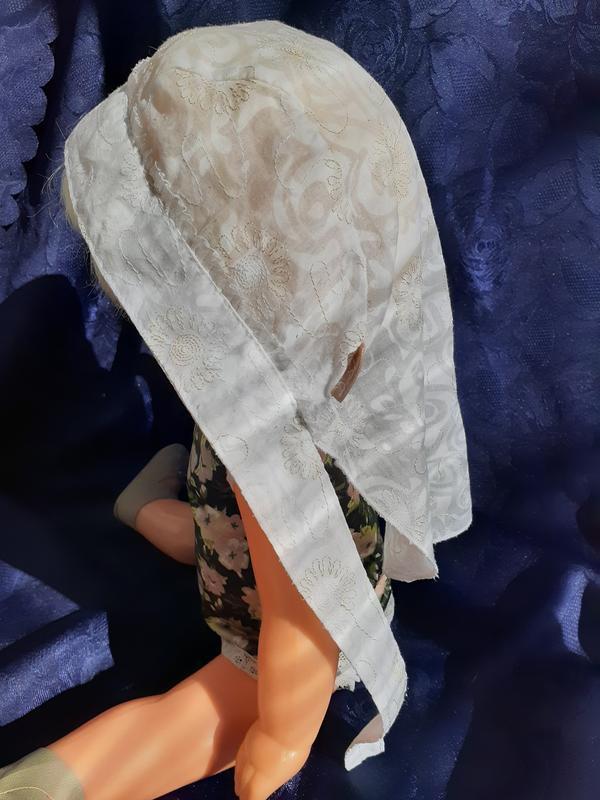 🍒d. star 🍬косынка бандана панамка на завязках детская батистов... - Фото 2