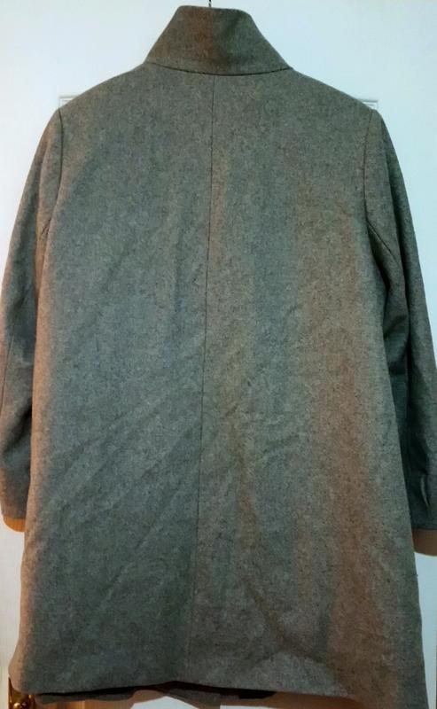Шерстяное пальто. - Фото 2