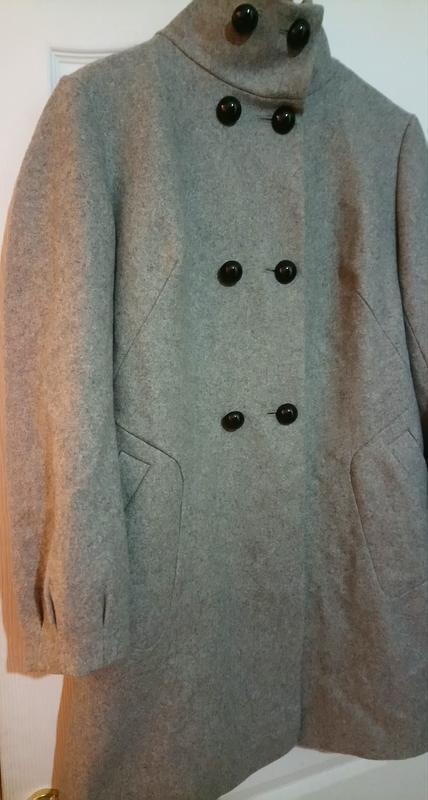 Шерстяное пальто. - Фото 3
