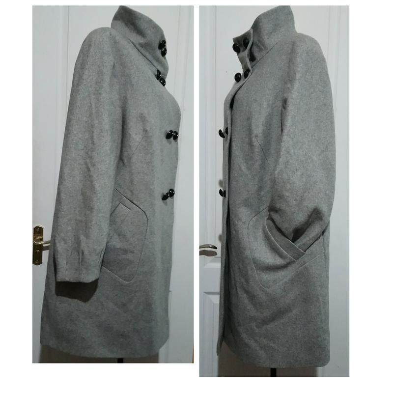 Шерстяное пальто. - Фото 7