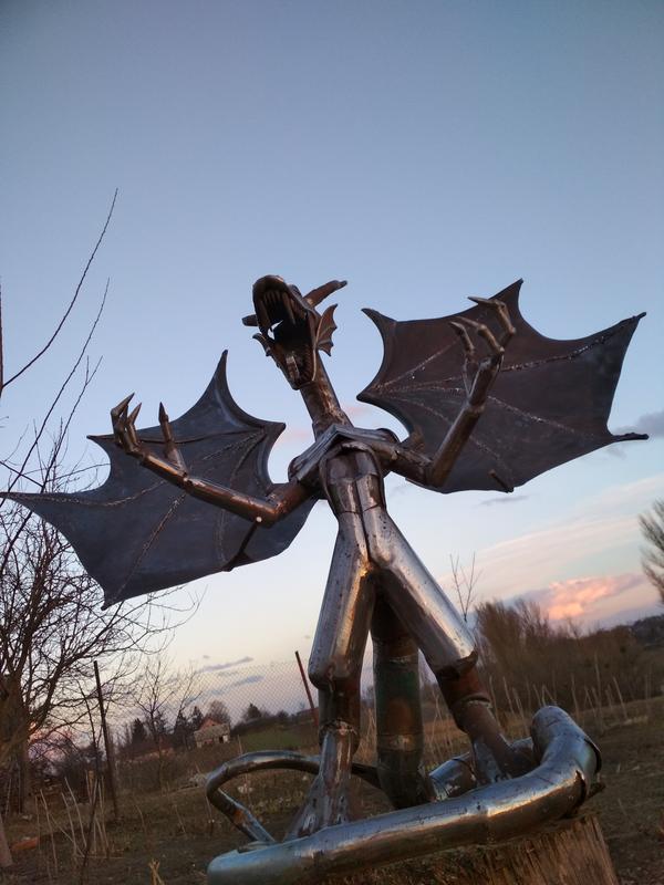 Статуя Дракон - Фото 2