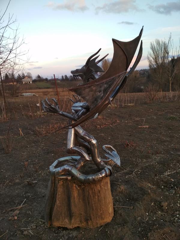 Статуя Дракон - Фото 4