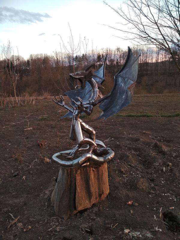 Статуя Дракон - Фото 6