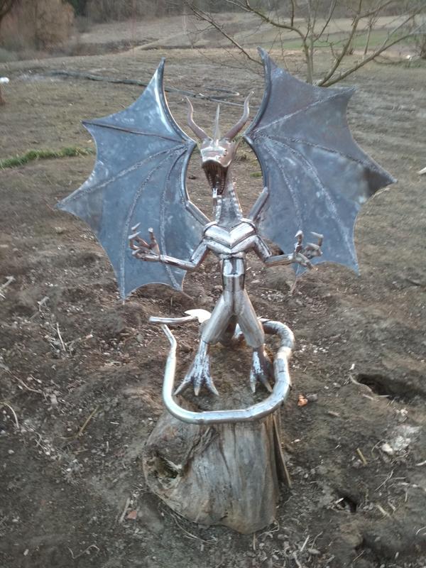 Статуя Дракон - Фото 5