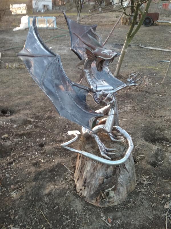 Статуя Дракон - Фото 8