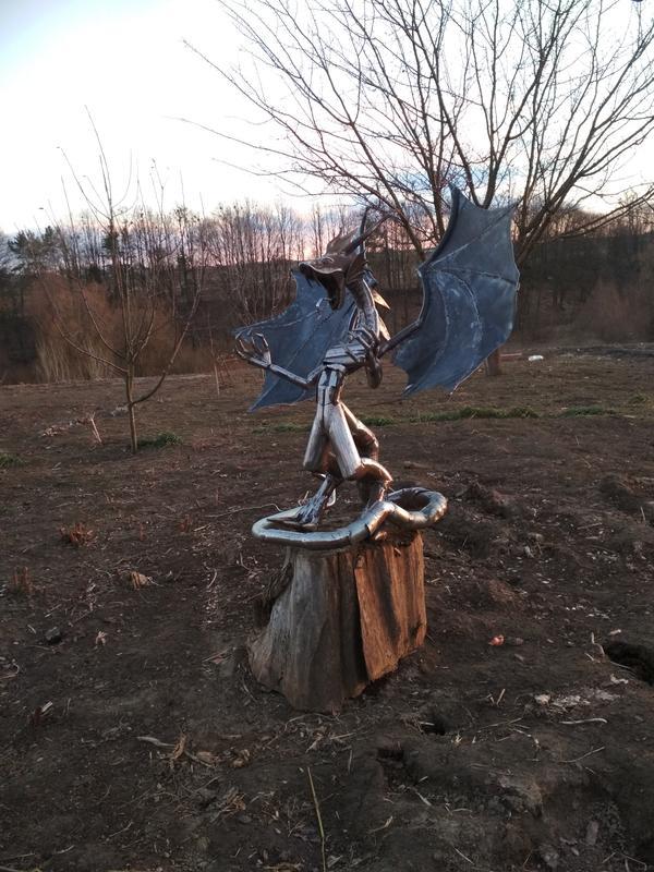 Статуя Дракон - Фото 11