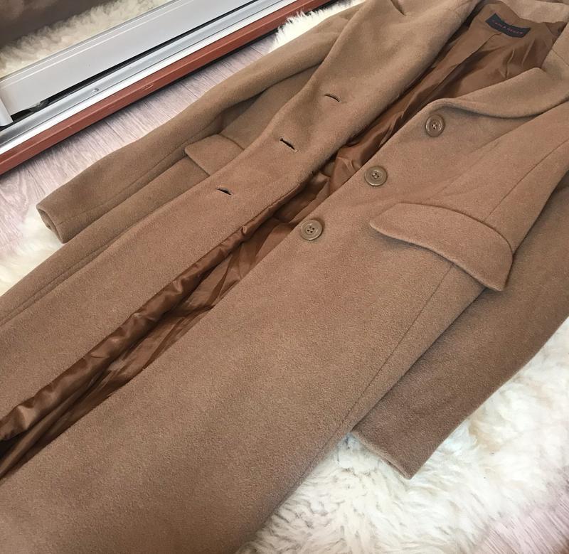 237 трендовое шерстяное пальто carla degen - Фото 4