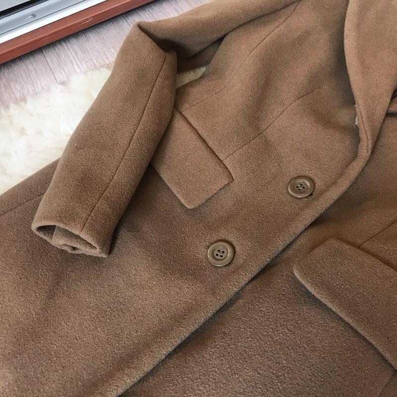 237 трендовое шерстяное пальто carla degen - Фото 6