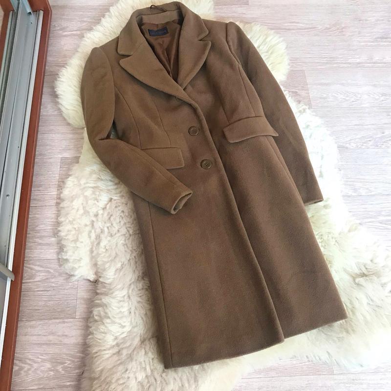 237 трендовое шерстяное пальто carla degen - Фото 8