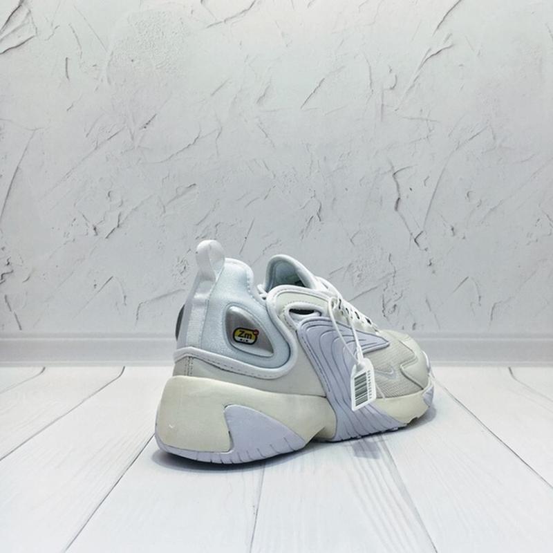 Женские бежевые белые кроссовки найк nike zoom 2k white beige.... - Фото 10