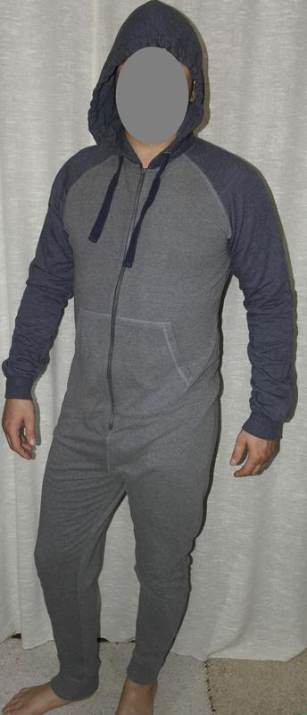 Tu трикотажный кигуруми пижама комбинезон прогулочный домашний - Фото 3