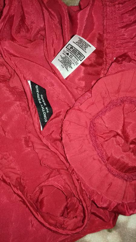 Красное платье вискоза. - Фото 3
