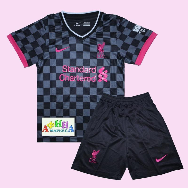 Детская футбольная форма ливерпуля 20-21 резервная nike (3046)