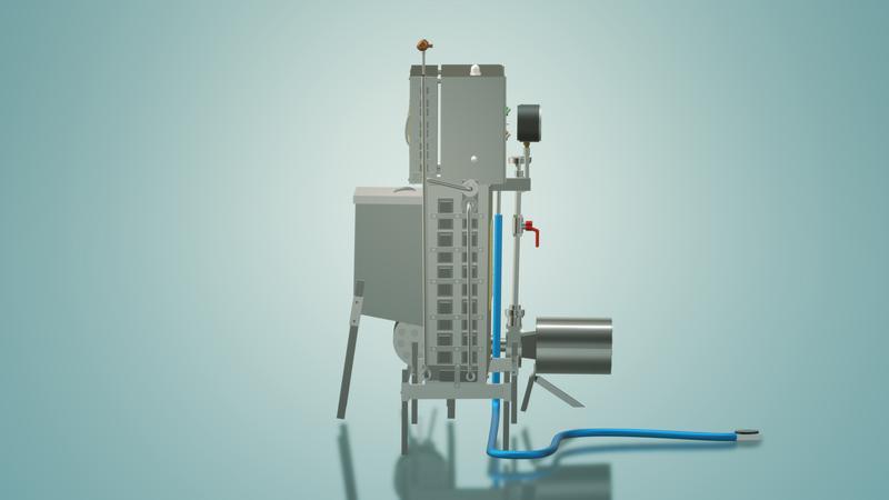 Пастеризатор молока под сепаратор и сыр 1 т/ч УЗМ-1,0 - Фото 6